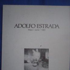 Arte: ADOLFO ESTRADA MUSEO BB AA SANTANDER 1991. Lote 52672672