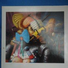 Arte: LUIS SÁEZ DÍEZ .1988 SALA LUZÁN 40 PP. Lote 52748745