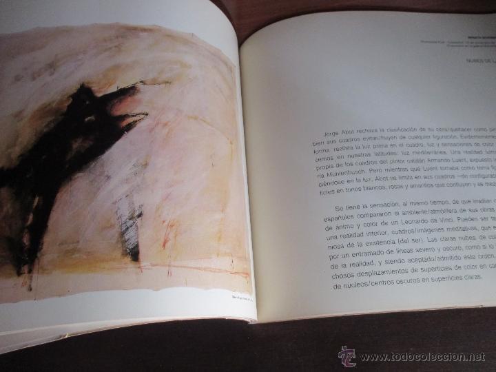 Arte: JORGE ABOT. CATALOGO. GALERIA KREISLER DOS. MADRID 1986. - Foto 3 - 52754030