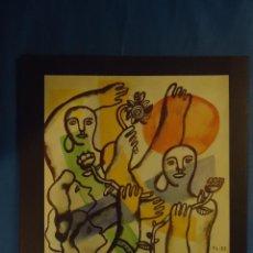 Arte: GALERIE FRAMOND DE PARIS. EXPO. ABRIL 1985. F. LEGER, P. PICASSO, F. BORES, R. MATTA,.... Lote 71179809