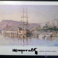 Arte: CATALOGO EXPOSICIÓN DE M.MAYORAL DEL AÑO 1985. SALA GRIFÉ Y ESCODA DE BARCELONA.VER COMENTARIOS . Lote 52901445