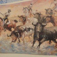 Arte: FOLLETO PINTURAS LOPEZ CANITO.PINTOR TAURINO.SOROLLA GALERIA DE ARTE.SEVILLA.1992. Lote 53244884