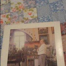 Arte: FOLLETO EXPOSICION PINTOR JOSE PUENTE.GALERIA DE ARTE SOROLLA.SEVILLA.1989.. Lote 53244933