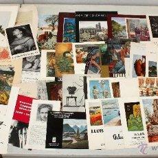 Arte: LOTE DE 56 CATALOGOS DE ARTE. GINES PARRA, OLGA SACHAROFF, GAUDI, CALSINA...ETC. Lote 53565910