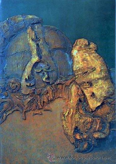 CATÁLOGO. LUCIO MUÑOZ. GALERIA JUANA MORDÓ. MADRID. 1973. TEXTO DE E. CHICHARRO. (Arte - Catálogos)
