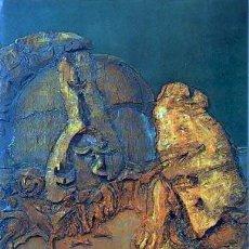 Arte: CATÁLOGO. LUCIO MUÑOZ. GALERIA JUANA MORDÓ. MADRID. 1973. TEXTO DE E. CHICHARRO.. Lote 54157302