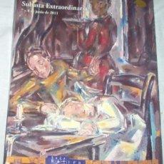 Arte: SUBASTA EXTRAORDINARIA DE LA SALA RETIRO, JUNIO DE 2011. Lote 54280919