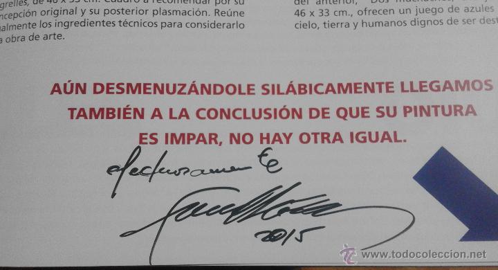 Arte: CATÁLOGO DE EXPOSICIÓN EUSTAQUIO SEGRELLES EN ZÚCCARO. FIRMADO. - Foto 2 - 54491624
