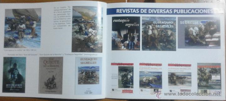 Arte: CATÁLOGO DE EXPOSICIÓN EUSTAQUIO SEGRELLES EN ZÚCCARO. FIRMADO. - Foto 11 - 54491624