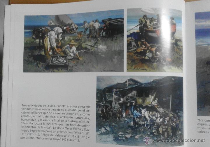 Arte: CATÁLOGO DE EXPOSICIÓN EUSTAQUIO SEGRELLES EN ZÚCCARO. FIRMADO. - Foto 12 - 54491624