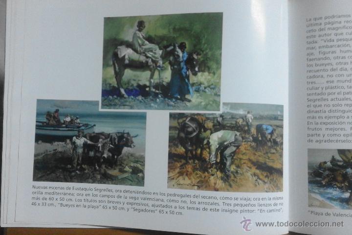 Arte: CATÁLOGO DE EXPOSICIÓN EUSTAQUIO SEGRELLES EN ZÚCCARO. FIRMADO. - Foto 13 - 54491624