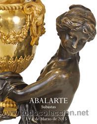 CATÁLOGO SUBASTAS ABALARTE Nº 7. 3 Y 4 MARZO 2015 (Arte - Catálogos)