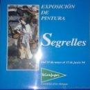 Arte: EUSTAQUIO SEGRELLES. CATALOGO DE EXPOSICION EL EL CORTE INGLÉS CASTELLANA. FIRMADO Y DEDICADO.. Lote 54859203