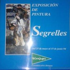 Arte - EUSTAQUIO SEGRELLES. CATALOGO DE EXPOSICION EL EL CORTE INGLÉS CASTELLANA. FIRMADO Y DEDICADO. - 54859203