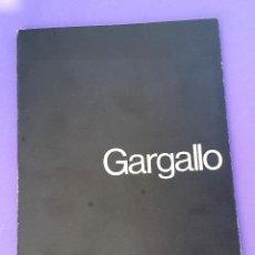 Arte: GARGALLO - GALERIA THEO - 1975 . Lote 54885322