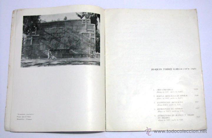 Arte: Antiguo Catalogo Arte Pintura Uruguay V Bienal San Pablo Joaquin Torres Garcia Año 1959 - Foto 8 - 54948329