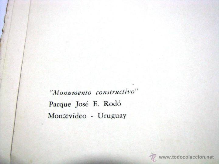 Arte: Antiguo Catalogo Arte Pintura Uruguay V Bienal San Pablo Joaquin Torres Garcia Año 1959 - Foto 10 - 54948329