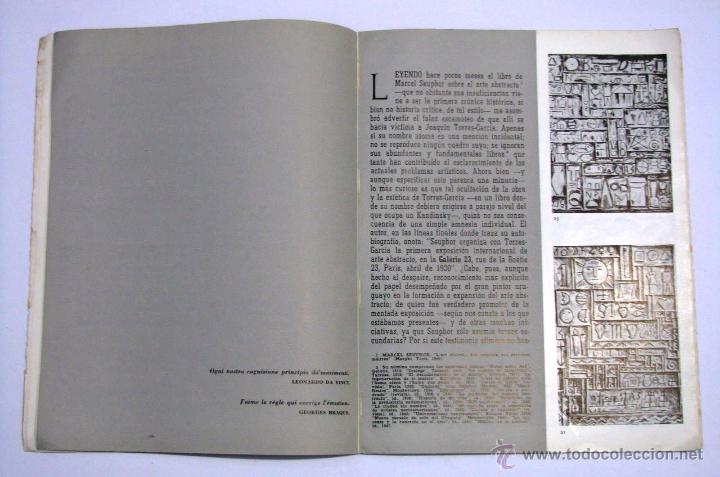 Arte: Antiguo Catalogo Arte Pintura Uruguay V Bienal San Pablo Joaquin Torres Garcia Año 1959 - Foto 14 - 54948329