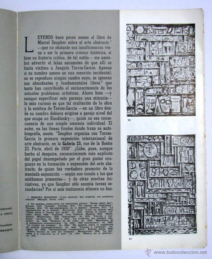 Arte: Antiguo Catalogo Arte Pintura Uruguay V Bienal San Pablo Joaquin Torres Garcia Año 1959 - Foto 15 - 54948329