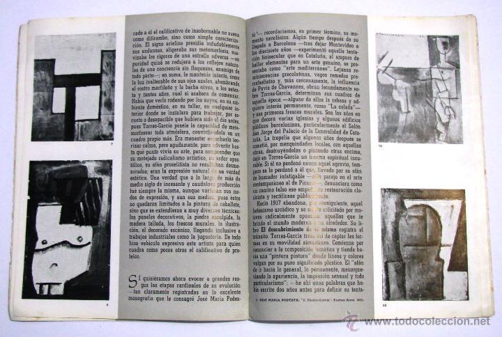 Arte: Antiguo Catalogo Arte Pintura Uruguay V Bienal San Pablo Joaquin Torres Garcia Año 1959 - Foto 18 - 54948329