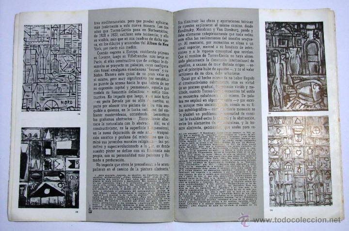 Arte: Antiguo Catalogo Arte Pintura Uruguay V Bienal San Pablo Joaquin Torres Garcia Año 1959 - Foto 19 - 54948329