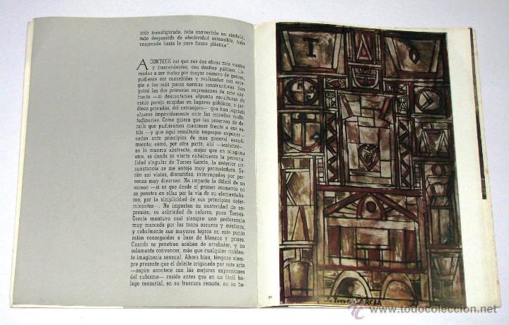 Arte: Antiguo Catalogo Arte Pintura Uruguay V Bienal San Pablo Joaquin Torres Garcia Año 1959 - Foto 22 - 54948329