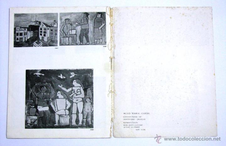 Arte: Antiguo Catalogo Arte Pintura Uruguay V Bienal San Pablo Joaquin Torres Garcia Año 1959 - Foto 29 - 54948329