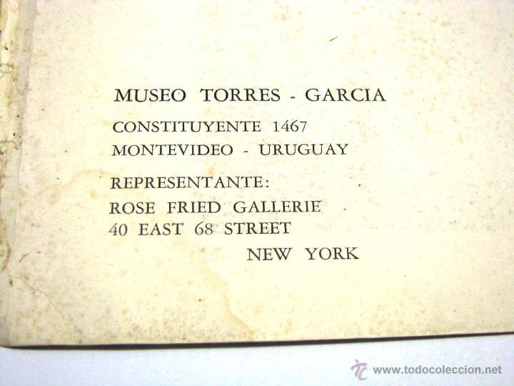 Arte: Antiguo Catalogo Arte Pintura Uruguay V Bienal San Pablo Joaquin Torres Garcia Año 1959 - Foto 30 - 54948329