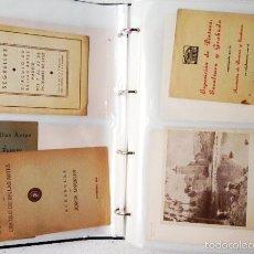 Arte: ARCHIVO DE LOS INICIOS DEL GALERISMO EN ESPAÑA. (1920-1950) (MÁS DE UN CENTENAR DE CATÁLOGOS... . Lote 55388758
