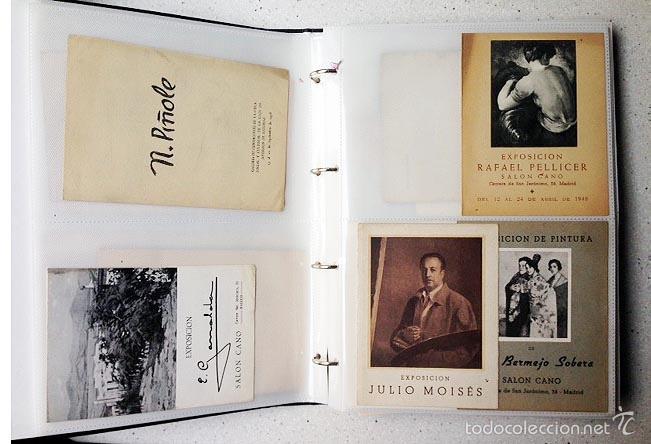 Arte: Archivo de los inicios del galerismo en España. (1920-1950) (Más de un centenar de catálogos... - Foto 5 - 55388758