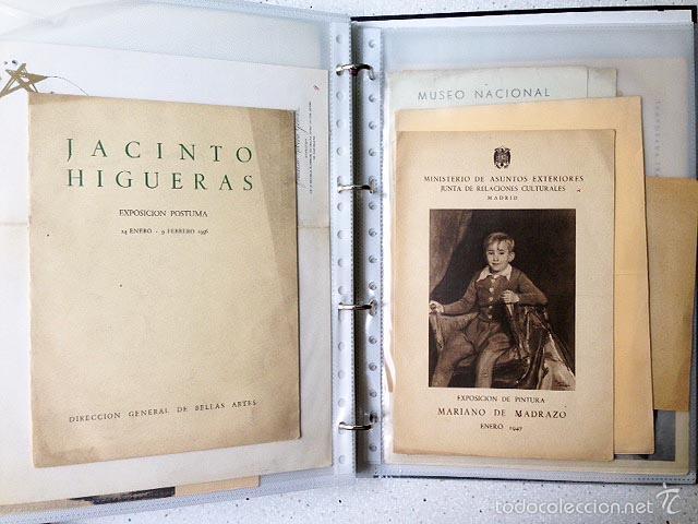 Arte: Archivo de los inicios del galerismo en España. (1920-1950) (Más de un centenar de catálogos... - Foto 6 - 55388758