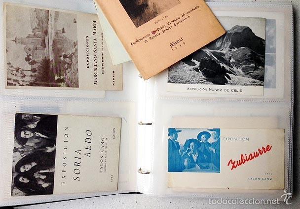 Arte: Archivo de los inicios del galerismo en España. (1920-1950) (Más de un centenar de catálogos... - Foto 7 - 55388758