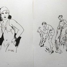 Arte: ILUSTRADORES Y CARICATURISTAS 1900-1950 POR ALBERTO SANCHEZ ALVAREZ INSUA. Lote 56124676