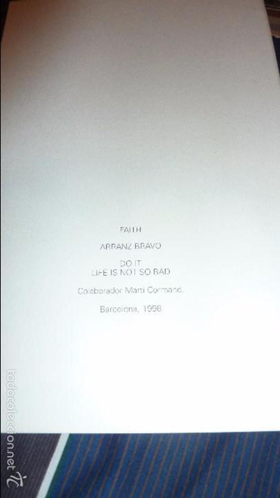 Arte: excepcional catalogo arranz bravo . faith colaborador marti cormand . barcelona 1998 . 40 pag - Foto 4 - 56129220