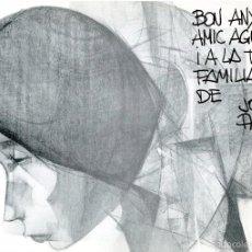 Arte: CATÁLOGO, CON DEDICATORIA AUTÓGRAFA, DE EXPOSICIÓN EN GINEBRA DEL PINTOR JORDI ALUMÁ, 1966. Lote 56167558