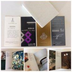 Arte: CATÁLOGO E INVITACIONES DE LA EXPOSICIÓN 100 AÑOS DE MARISCAL 1988. Lote 56322685