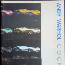 Arte: ANDY WARHOL - COCHES . Lote 56587487