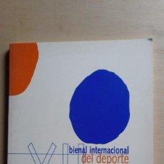 Arte: 1 CATALOGO CONSEJO SUP. DEPORTES DE ** XII BIENAL INTERN. DEL DEPORTE ** BELLAS ARTES 1997. Lote 56653963
