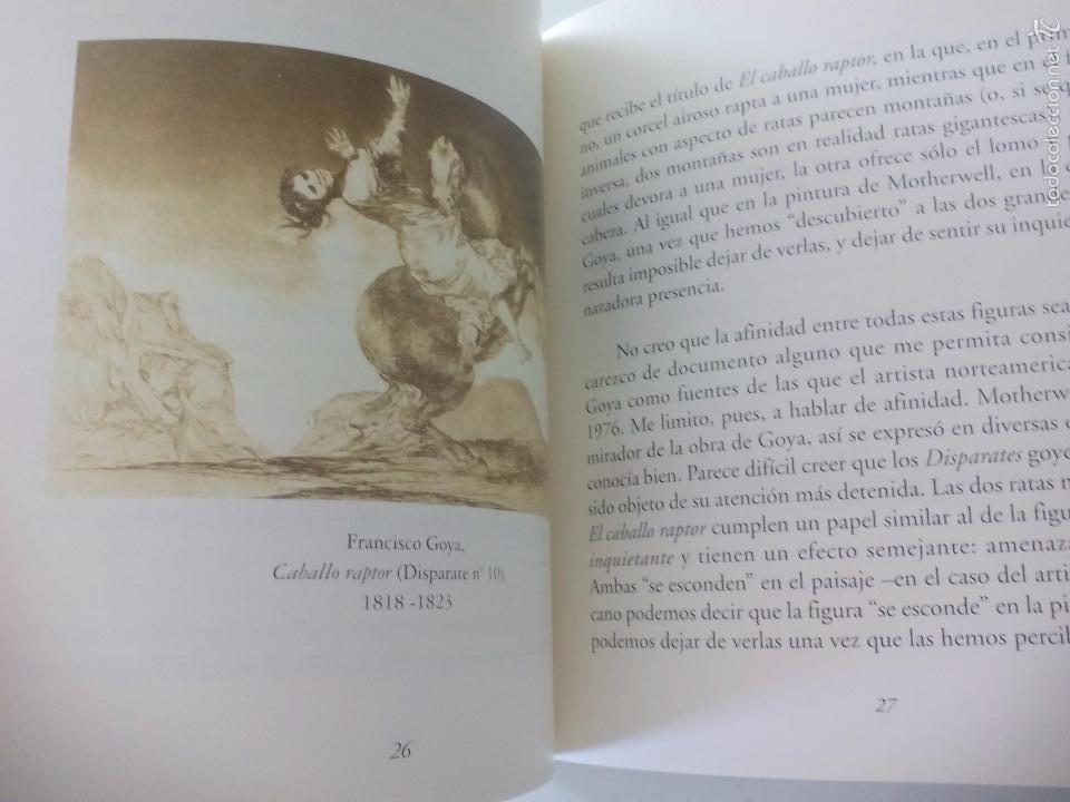 Arte: Robert Motherwell Presencia Inquietante 1998. Museo Nacional. Centro Reina Sofía - Foto 2 - 57002328
