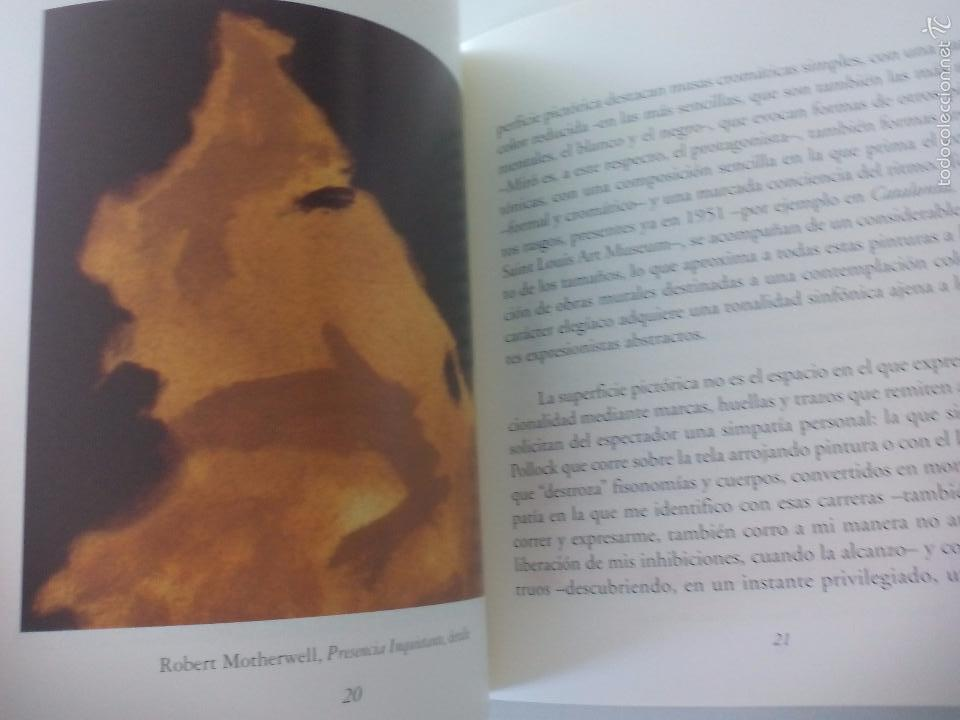Arte: Robert Motherwell Presencia Inquietante 1998. Museo Nacional. Centro Reina Sofía - Foto 3 - 57002328