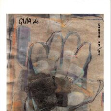 Arte: GUÍA DE PINTORES EN EL AULA. CURSO 93/94. 43 EJERCICIOS PARA TRABAJAR SOBRE OBRAS DE ARTE.. Lote 57265731