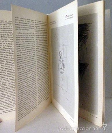 Arte: Catálogo Joan Cardells. (1982) Galería Fernando Vijande, Madrid. Texto de Tomas Llorens - Foto 3 - 58525304