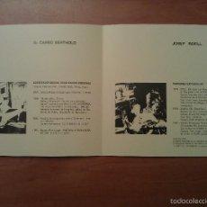 Arte: 1991 ? CADAQUÉS : CARBÓ BERTHOLD - JOSEP BOFILL. Lote 57517202