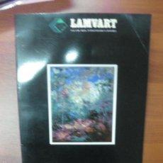 Arte: CATALOGO BENET SARSANEDAS. SALA DE ARTE LAMVART 1992. DEDICATORIA AUTOGRAFA DEL PINTOR.. Lote 57524553