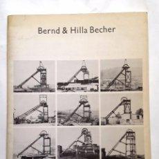 Arte: BERT & HILLA BECHER - 1974 - THE ARTS COUNCIL OF GREAT BRITAIN. Lote 57538043