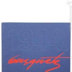 Arte: BUSQUETS. MIG SEGLE DE PINTOR. 1994. JOAQUIM BUSQUETS GRUART. SABADELL. Lote 57631022