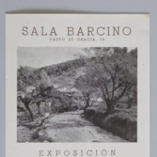 Arte: INVITACIÓN // CATÁLOGO EXPOSICIÓN // VILÁ CAÑELLAS // 1943 // SALA BARCINO // BARCELONA. Lote 57679768