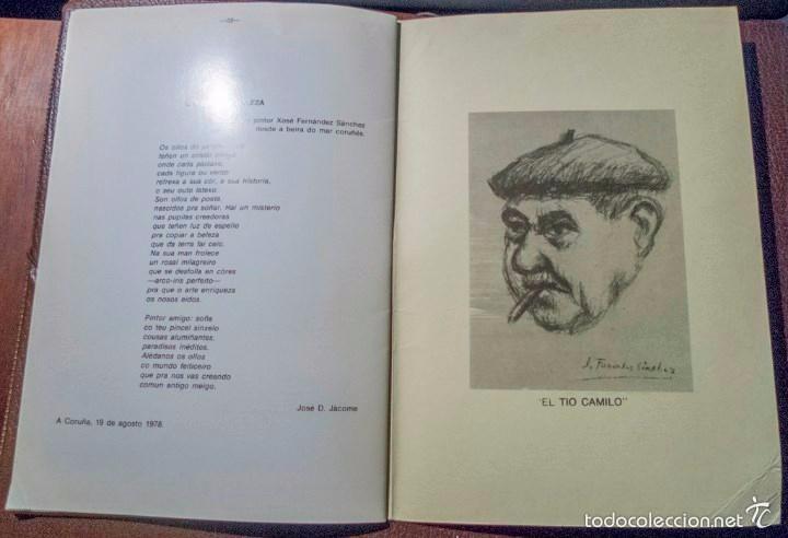 Arte: J. Fernández Sánchez Un año de trabajo con dedicatoria del pintor 1979 - Foto 8 - 57746760