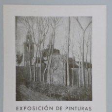Arte: INVITACIÓN // CATÁLOGO EXPOSICIÓN // ANTONIO VENTÓS // 1943 // GALERÍAS COSTA // BARCELONA. Lote 57771796