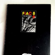 Arte: FIAC 89 - PARIS - GALERIA CARLES TACHÉ - BARCELÓ - TAPIES - ARROYO - SAURA.... Lote 57791141